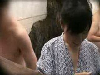 Sexy Japanese Girl Violated At Spa Center