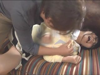 Ayaka Tomoda Gets Molested And Roughly Fucked By New Neighbor