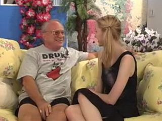 Sexy Pigtailed Teen Returned Grandpas Smile On His Face Again