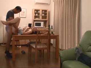 When Drunk Husband Fell Asleep His False Friend Hard Fucked His MILF Housewife