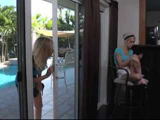 Stepmom Wanted To Show To Her Loving Stepdaughter How She Can Enjoy In Good Lesbian Sex
