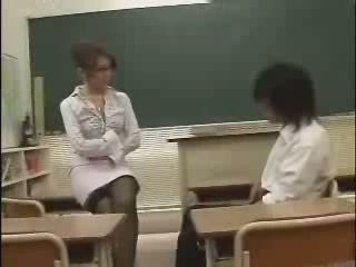 Japanese School Teacher  AV Idol  Yuna Takizawa