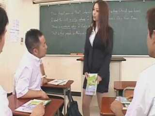 Teacher Molested In Classroom