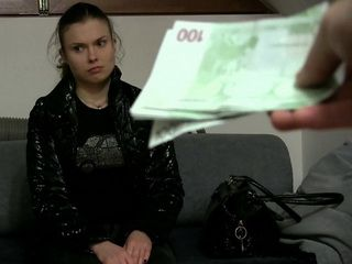 Desperate For Money Girl Gets Offer She Couldnt Refuse at Fake Job Interview
