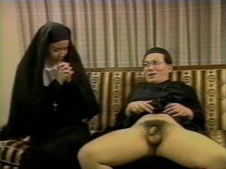 Immodest Priest Fucks Amazed Japanese Nun Mirei Asaoka Uncensored