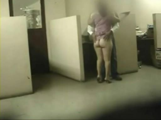 Cheating Wife Busted With Security Cam Fooling Around With Colleague at Work