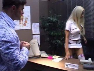 Naughty Dressed Less Nurse Crossed The Line Nurse Patient