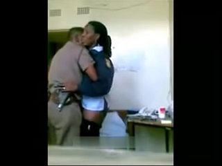 South African Cops Caught Fucking On Duty At The Office