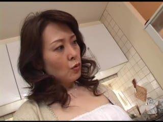 Japanese Mom Masturbating After Watching Porn Magazine