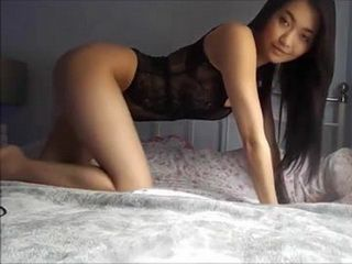 Dirty Asian Babe Toying Her Pussy On Webcam
