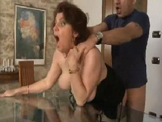 Mature Woman Fucked In Ass Hard By Young Guy