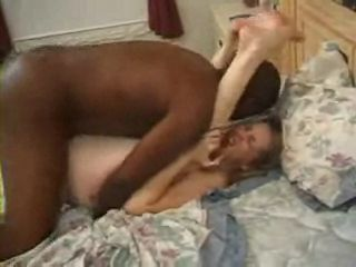 Cuckold Wife Moans During Hard Interracial Anal Fuck