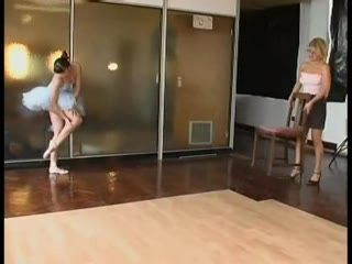 Ballet Dancer Spanked Hard For Disobedience