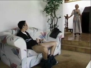 Hot Blonde MILF Mom Walked In On Boy Jerking Off To A Porn Magazine