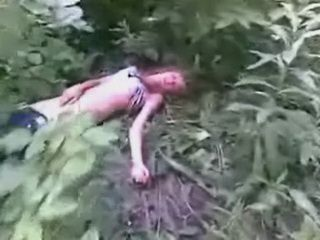 Barely Alive And Still Willing For Fuck In A Dirt