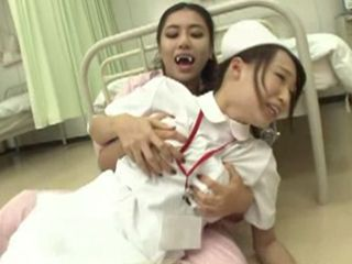 Vampire Girl Suck Out Of The Juice From Nurse Wet Pussy