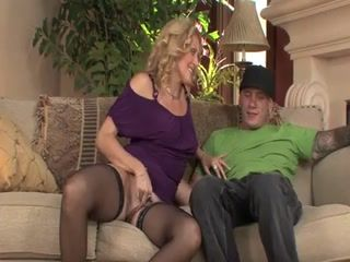 Unexpectedly For Amazed Son It Turned That This Milf Mom Is Much Better Than Previous One
