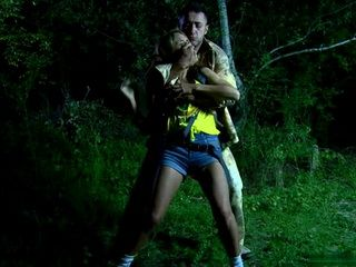 Teen Lost In Woods Late at Night Gets  Anal Fucked