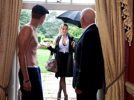 Magic Nanny Busty Rebecca Moore Takes Good Care Of Naughty British Boy