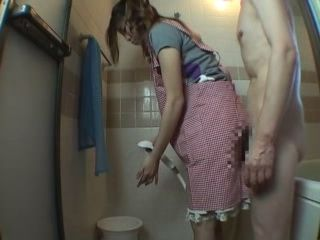 Daughter In Law Abused By Father In Law In Bathroom