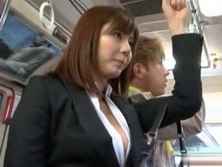 Flashing On Asian Teen Hot Ass In Bus  Yuma Asami