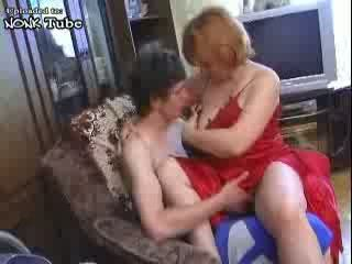 Russian Boy Fuck His Mature Hospita