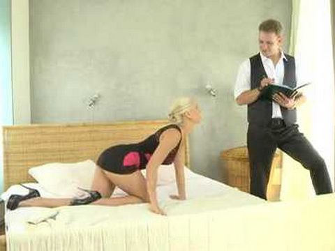 Hotel Manager Seduces And Fucks Reviser In Order To Get One More Star