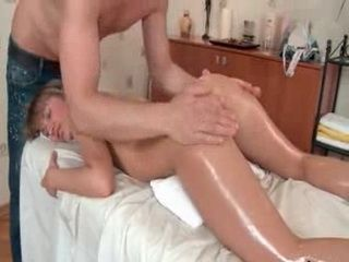 Young Teen Gets Massaged And Fucked