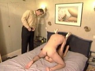 Horny Milf Arranged A Party In The Bed With Two Colleagues From Work