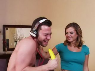 His Sisters Friend Desperately Wants His Banana