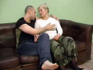 Blonde Mature Adore To Fuck Young Cock