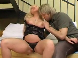 Pregnant Blonde Pussy Was In Fire So She Called Guy Next Door To Fuck Her Brain Out