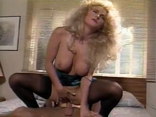 Busty Mature Blonde In Stockings Riding Hotel Employee On Vacation