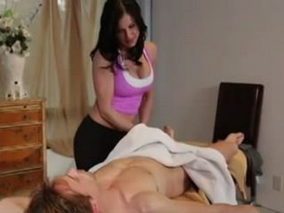 Lucky Guy Got For The First Time Happy Ending Massage From Stunning Hot Masseuse