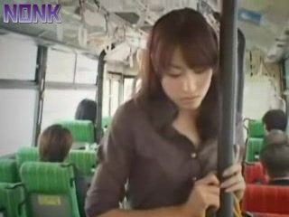Japanese Girl Groped and Violated In Bus By Bunch Of Perverts
