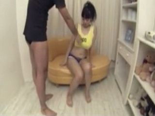 Asian Stepbrother Take Advantage Of His Shy Stepsister