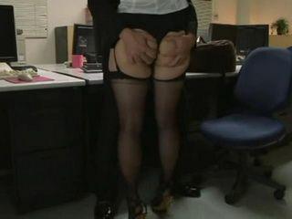 Busty Secretary Mana Takai Fucked Her Colleague In Their Office