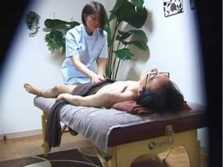 Nerd Guy Gets Full Oriental Massage Treatment