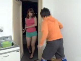 Slutty Woman Caught Boy Next Door Trying To Break Into Her Home