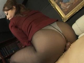 Dry Sex At Office With Hot MILF Secretary Yumi Kazama In Nylons