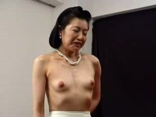 Mature Japanese Lady Brought To Orgasm