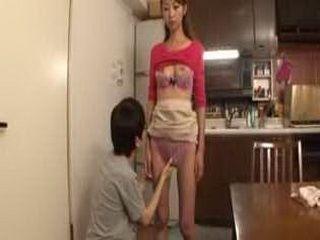 Nasty Mother Awakening  Rei Aoki