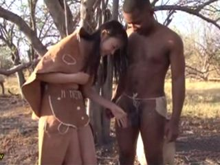 Tour Of African Tribe Interested Her Only To Tour Their Big Black Cocks  Natsume Airi