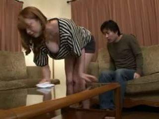 Houseworking Stepmom Yumi Kazama Gets Swooped By Her Stepson