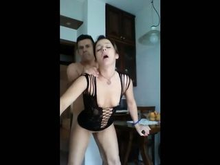 Guy Taped While Fucking Neighbors Cheating Wife In Sexy Lingerie