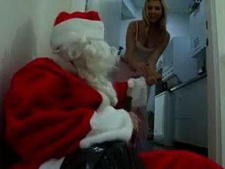 Drunk Santa Claus Spreading Christmas Spirit