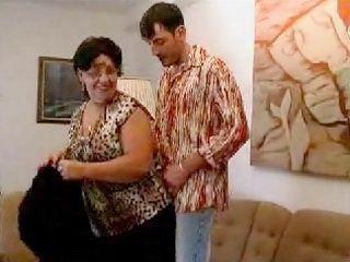 Slutty Granny Fucked By Son In Law