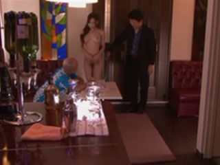 The Only Mission Of Naked Waitress Hasumi Claire Was To Satisfy Drunk Customer