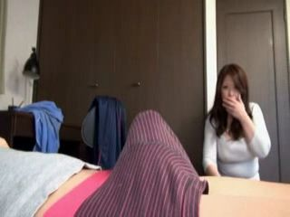 Son Set Boner Trap For His Busty Stepmom Natsuko Kayama
