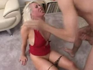 Blonde Girl Extremly Hard Sex And Mouth Cumming